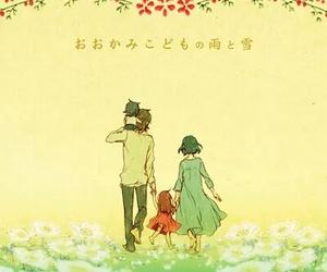 kawaii, wolf children, and anime image