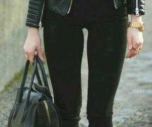 style, black, and jacket image