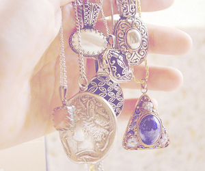 necklace, vintage, and jewelry image