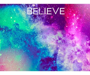believe, cool, and space image