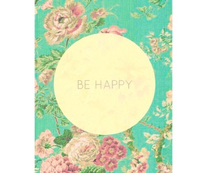 flower, happy, and text image