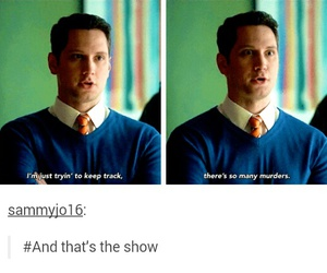 funny, asher, and htgawm image