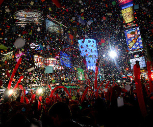 new year, party, and new york image