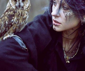 owl, nature, and tattoo image