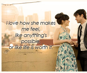 500 Days of Summer, love quotes, and quotes image