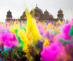 india, colors, and color image