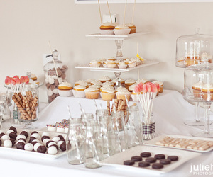 cake, sweets, and table image