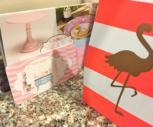flamingo, partysupplies, and partydecor image