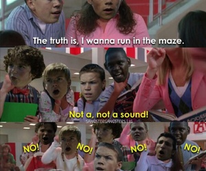 books, high school musical, and the maze runner image