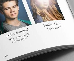 teen wolf, stiles stilinski, and malia tate image