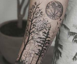 black, tatoo, and tatuaggi image