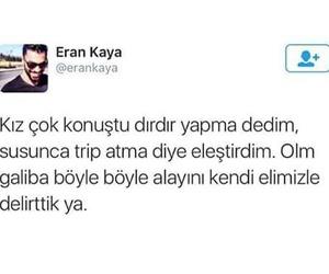 turkce, sözler, and delirttiniz image