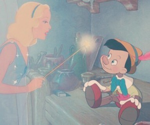 disney and pinocchio image