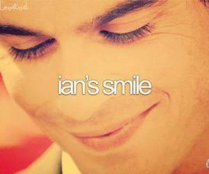 ian somerhalder, smile, and ian image
