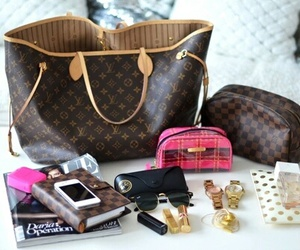 bags, fashion, and luis vuitton image