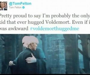 voldemort, harry potter, and tom felton image