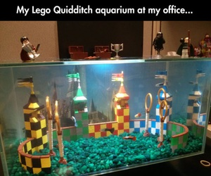 fish, harry potter, and lego image