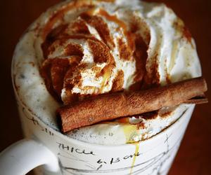 coffee, drink, and Cinnamon image