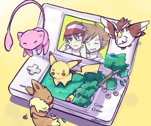 pokemon, mew, and pikachu image