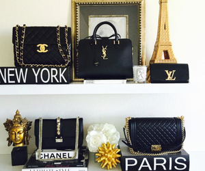 paris, chanel, and new york image