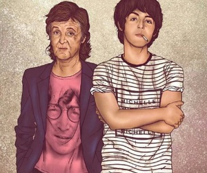 Paul McCartney and beatles image