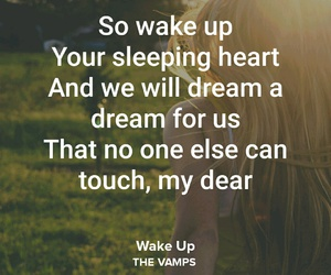 song, wake up, and love image