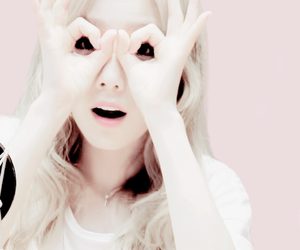 taeyeon, girls generation, and kpop image