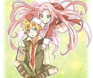 narusaku, naruto uzumaki, and pandora hearts image