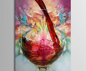 art, beauty, and wine image