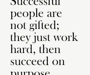 gift, work hard, and people image
