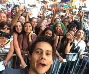 dylan o'brien, teen wolf, and fans image