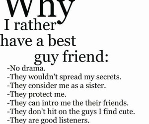 best friends, guy, and friends image