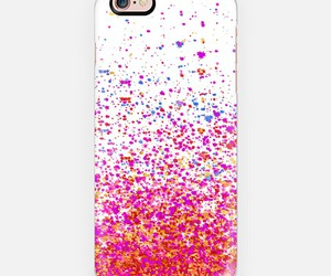 magenta, sparkle, and white image