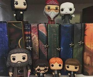 harry potter, books, and hogwarts image