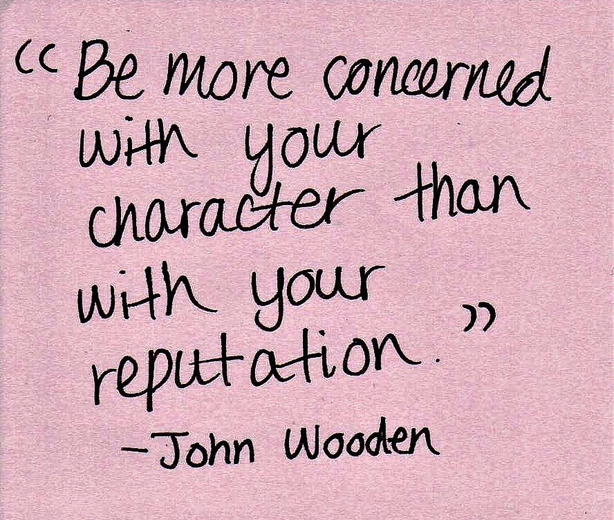 quotes, Reputation, and character image