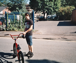 boy, bike, and bmx image