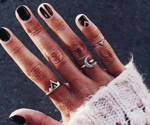 minimal, nails, and love image