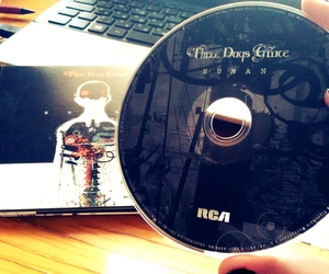 music, music album, and three days grace image