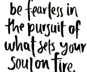 quote and be fearless image