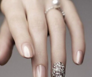 beautiful, fingers, and manicure image