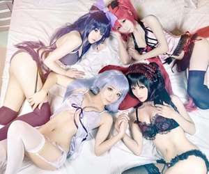 cosplay and date a live image