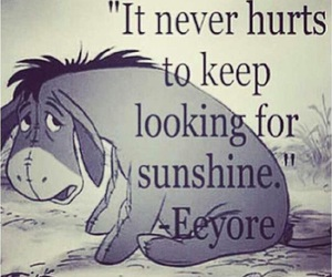 eeyore, disney, and quotes image