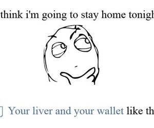 funny, wallet, and liver image