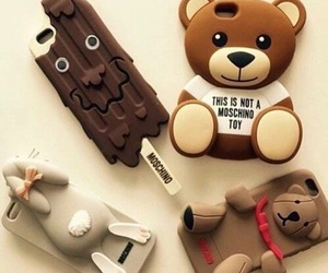 Moschino, bear, and case image