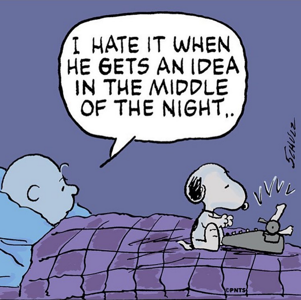ideas, snoopy, and peanuts image
