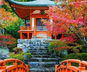 japan and Temple image