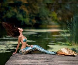 beautiful, disney, and mermaid image