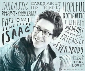 isaac, tfios, and the fault in our stars image