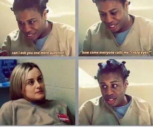 oitnb, crazy eyes, and orange is the new black image