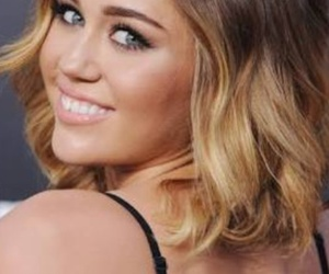 blonde, hair, and miley image